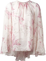 Giambattista Valli floral print shift blouse - women - Silk - 42