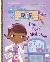 Disney Doc McStuffins: Doc is the Best Medicine! - Big Golden Book