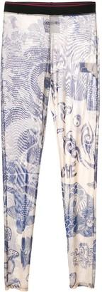 Koché Tattoo Print Mesh Trousers