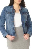 Evans Plus Size Women's Denim Jacket
