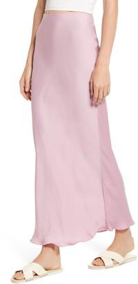 Free People Monterey Solid Slip Skirt