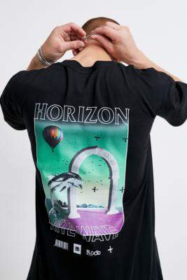 Blood Brother Horizon Black T-Shirt - black S at Urban Outfitters