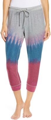Chaser Cozy Knit Tie Dye Joggers