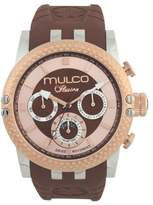 Mulco Unisex MW3-11169-033 Lincoln Illusion Chronograph Analog Swiss Movement Watch