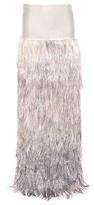Tom Ford Velvet And Ostrich Feather Skirt