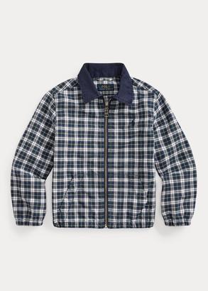 Ralph Lauren Plaid Cotton Oxford Jacket