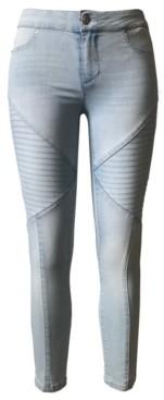Tinseltown Juniors' Moto Skinny Jeans
