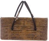 Prada Lizard Evening Bag