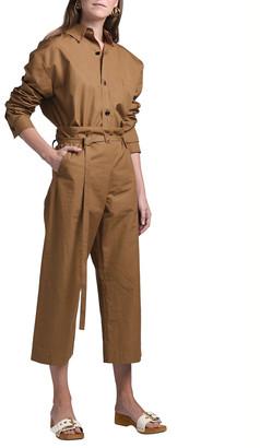 Marni Long-Sleeve Polo-Neck Shirt with Pocket