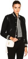 Saint Laurent Classic Teddy Bomber Jacket