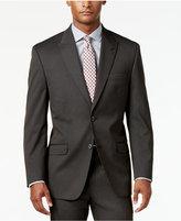Sean John Men's Classic-Fit Brown Stripe Suit Jacket