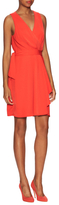 Ava & Aiden Wrap Self Tie Above The Knee Dress