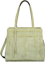 Mellow World Light Green Shirley Tote