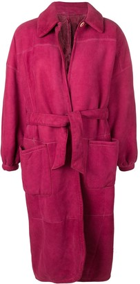 Gianfranco Ferré Pre-Owned 1980's Belted Coat