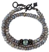 Armenta Women's Old World Mystic Double Wrap Bracelet