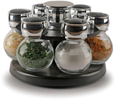 Six-Jar Contempo Round Spice Rack Set