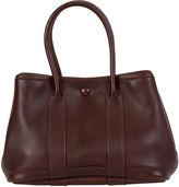 One Kings Lane Vintage Hermès Mini Brown Garden Party Bag