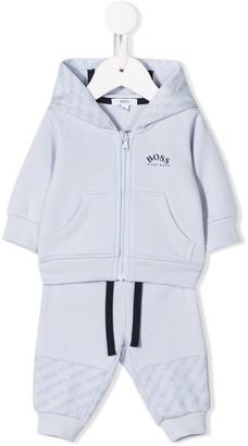 Boss Kidswear T-shirt and sweatshirt set