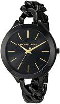 Michael Kors Women's Runway MK3317 Stainless-Steel Quartz Watch