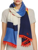 Tory Burch Jamaican Stripe Oblong Scarf