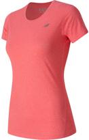 New Balance Women's Heathered Short Sleeve Tee