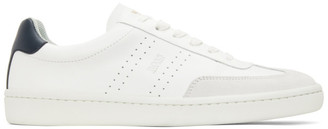 HUGO BOSS White Ribeira Tennis Sneakers