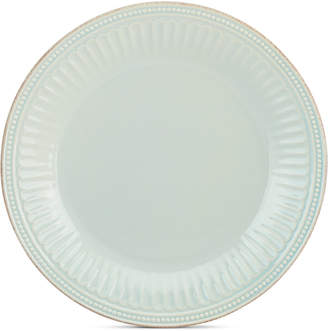 Lenox Stoneware French Perle Groove Ice Blue Dinner Plate