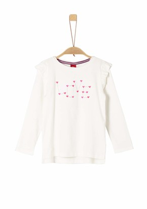 S'Oliver Girls' 53.909.31.8889 Longsleeve T-Shirt