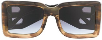 Burberry Oversized Tortoise Shell Sunglasses