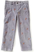 Brooks Brothers Little/Big Boys 4-20 Sled Embroidered Corduroy Pants
