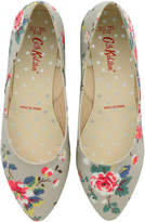 Cath Kidston Trailing Rose Textured Formal Pumps