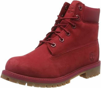 Timberland 6 In Premium Waterproof Unisex Kid's Ankle Classic Boots