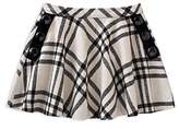 Kate Spade Girls' Plaid Skirt with Button Details - Little Kid