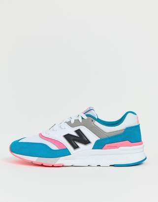 New Balance 997 trainers in white