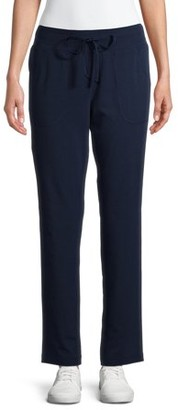 Athletic Works Women's Athleisure Core Knit Pants Available in Regular and Petite