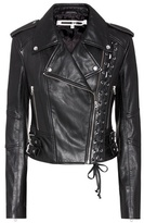 McQ by Alexander McQueen Leather biker jacket
