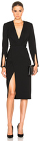 Protagonist Deep V Tailored Dress