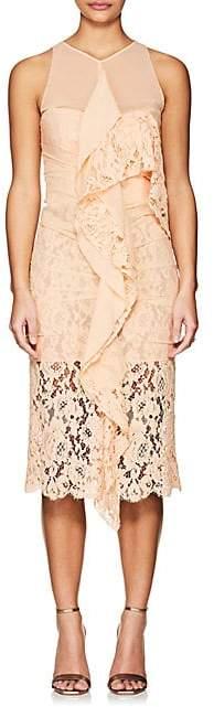 Proenza Schouler WOMEN'S LACE & CHIFFON COCKTAIL DRESS