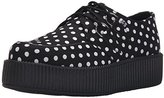 T.U.K. Women's Polka Dot Print Viva Creeper Oxford