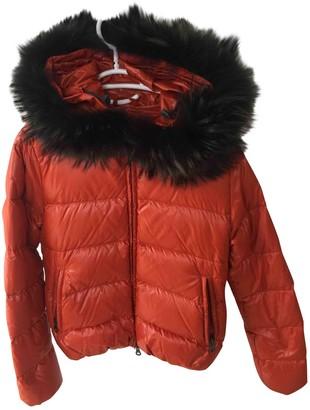 Duvetica Orange Coat for Women