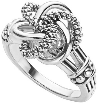 Lagos Love Knot Ring, Size 6-8