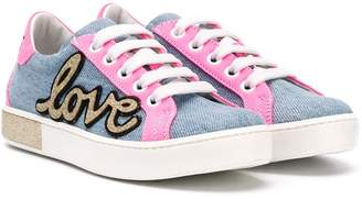 Am66 Love colour-block sneakers