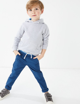 Marks and Spencer Cotton Ripstop Trousers (2-7 Years)