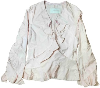 Ermanno Scervino Pink Cotton Top for Women