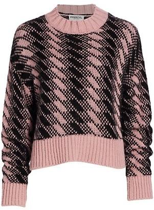 Essentiel Antwerp Warmer Jacquard Sweater