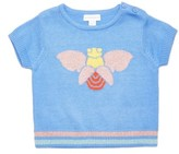 Margherita Infant Girl's Intarsia Bee Sweater