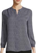 Liz Claiborne 3/4-Sleeve Soft Blouse