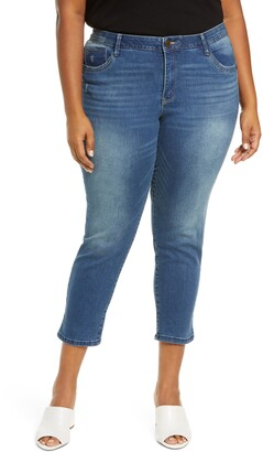 Wit & Wisdom Ab-solution High Waist Crop Skinny Jeans