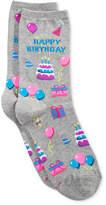 Hot Sox Women's Happy Birthday Socks