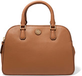 Tory Burch Robinson small textured-leather tote